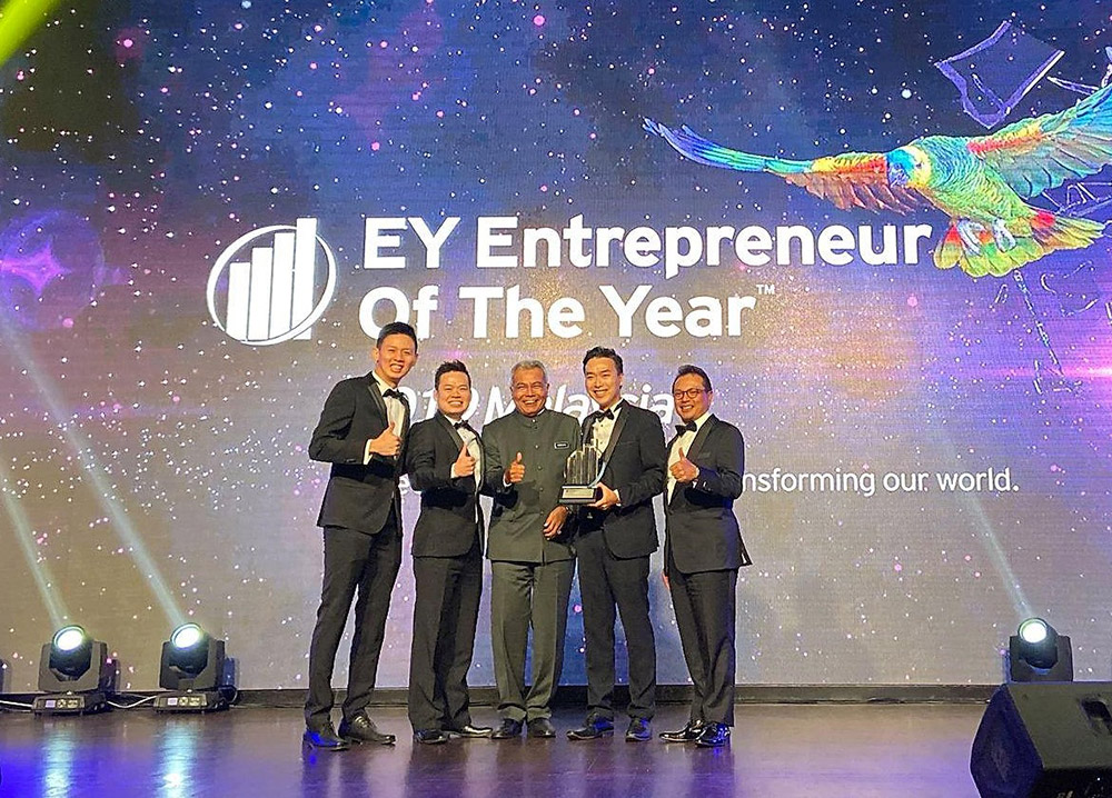 We are EY's Emerging Entrepreneur of the Year!