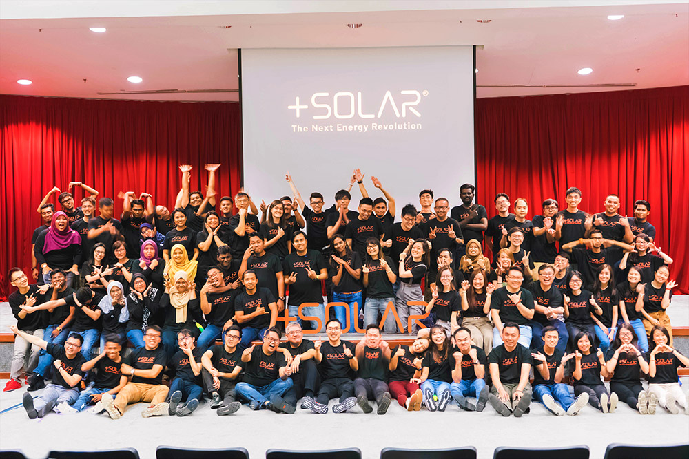 Plus Solarian's Employee Headcount Scale Up to Over a 120
